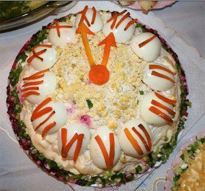 Натертая морковь с бананами