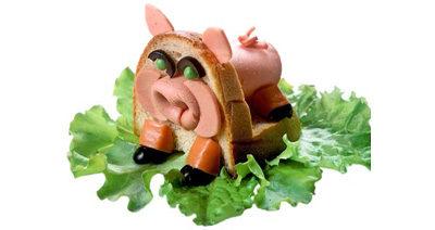 """Бутерброд """"Поросенок"""""""