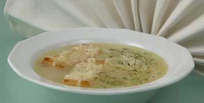 Суп луковый французский