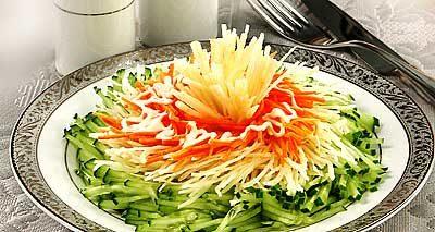 """Салат овощной """"Хорошее настроение"""""""