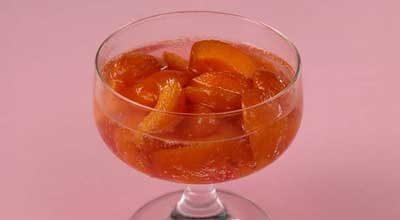 Абрикосовый десерт с джином