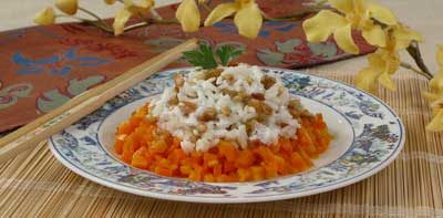 Салат рисовый