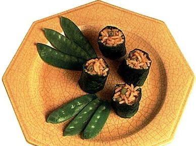 Японский салат с уксусом