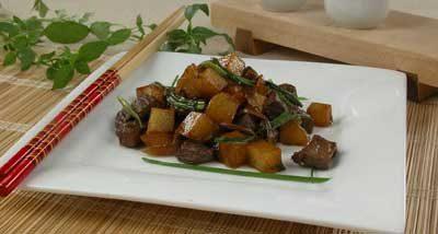 Свинина с картофелем