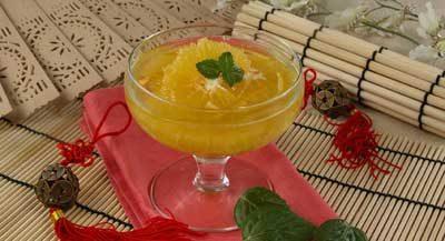 Апельсины в сиропе