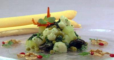 Кабачки с цветной капустой