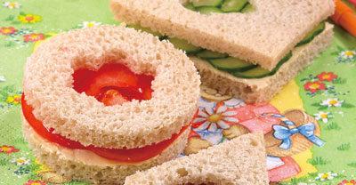Фигурные бутерброды