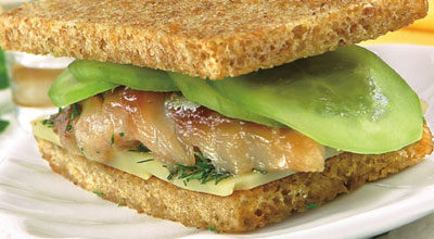 Сэндвичи со скумбрией