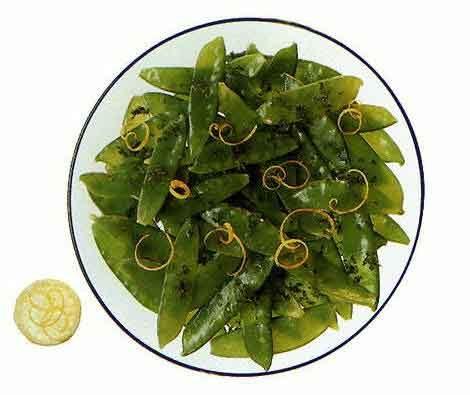 Салат из зеленого горошка