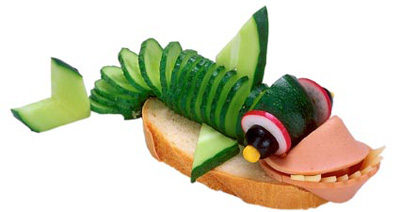 "Бутерброд ""Акула"""