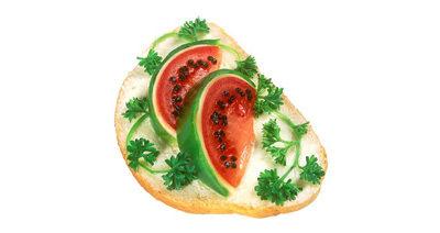 Арбузный бутерброд