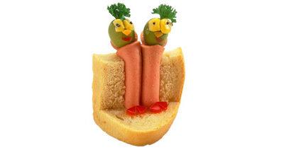 "Бутерброд ""Близнецы"""