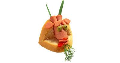 """Бутерброд """"Козерог"""""""