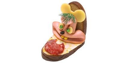 "Бутерброд ""Мышка с колбаской"""