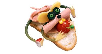 """Бутерброд """"Мышка с редиской"""""""