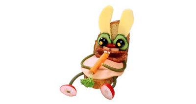 """Бутерброд """"Сытый заяц"""""""